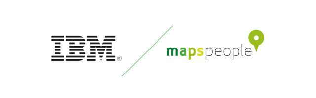 IBM+MapsPeople